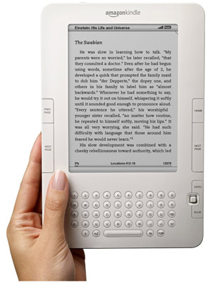 The 2nd generation Amazon Kindle eReader