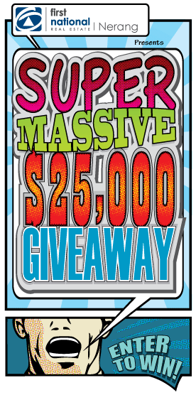 Super Massive $25,000 Giveaway with First National Real Estate