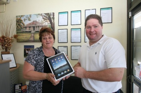 iPad Competition   Winners are Grinners